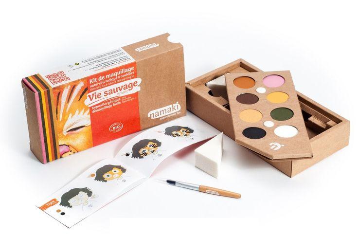 Kit Maquillage Enfant 8 couleurs Vie sauvage