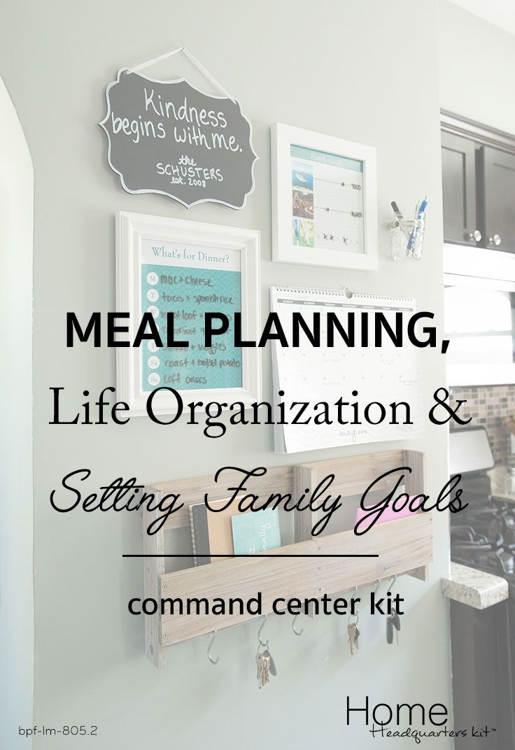 Creating a command center in your home is easy with the Home Headquarters kit - includes access to unlimited online templates, video tutorials and so much more! Shop today!
