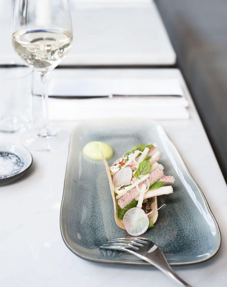 Mieke Cuppen tableware design i.c.w. chef Ron Blaauw