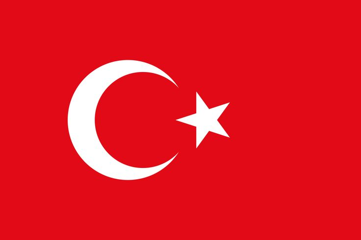 Turkey Country Flag