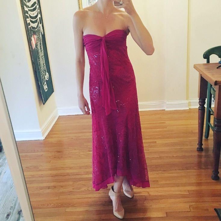 Bcbgmaxazria Gorgeous New Years Dress Gown