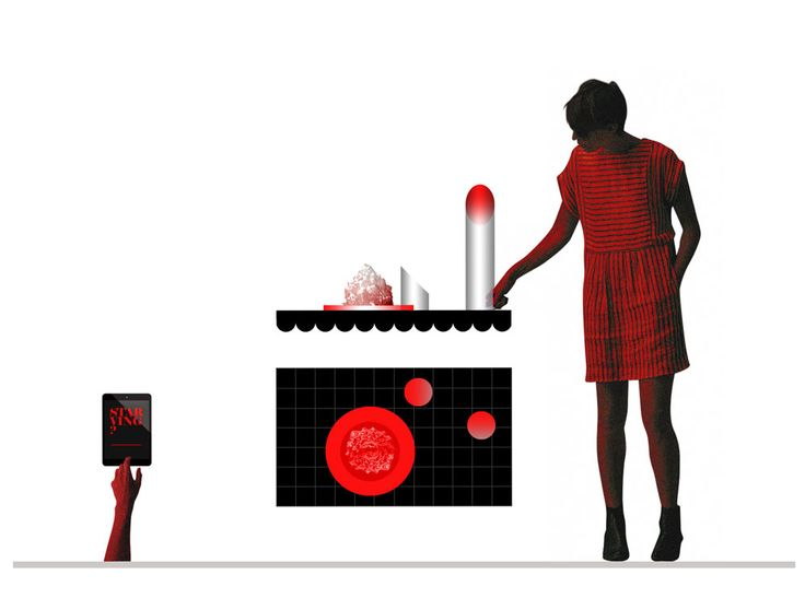 starving #starvingaffamato designed by francesca perani for a stomaco vuoto exhibition FUORISALONE2015 mdw15 milandesignweek2015 acrylic acrilico metacrilato by FIRMA snc
