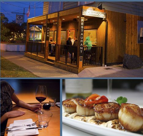 Norwoods Restaurant: Dining in Ucluelet BC Vancouver Island