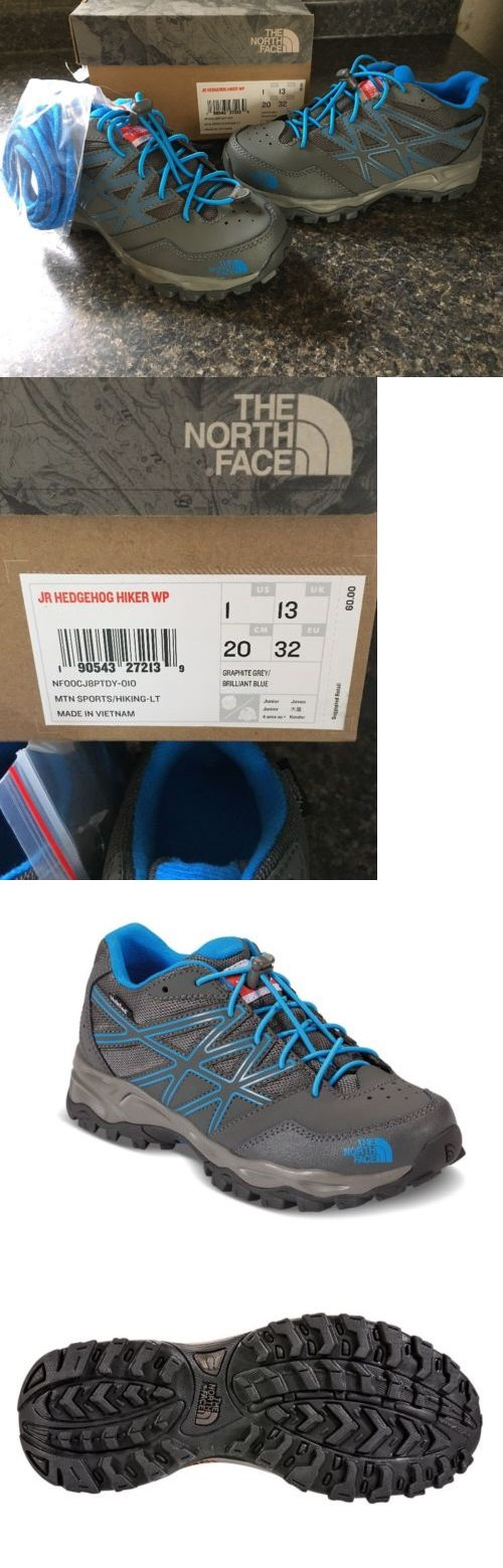 Kids 181394: The North Face Jr Hedgehog Hiker Waterproof Retail $ 60.00 Size 1 -> BUY IT NOW ONLY: $45 on eBay!