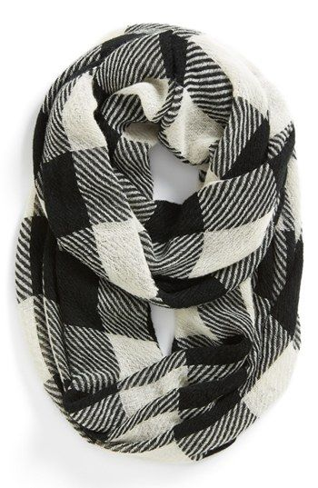 Tildon Plaid Infinity Scarf | Nordstrom.  -   Have one like this and I use it very often.  Easy to use!!