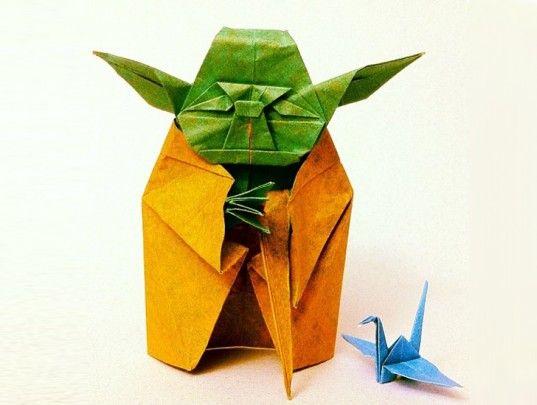 No clima de sta wars? Quem sabe um yoada de origami?