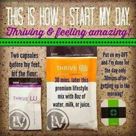 Every morning and I feel fantastic the whole day even after all my crazy runaround! #crazyhecticlife #thrvnalive #busymom #thriver #3easysteps #wearablenutrition