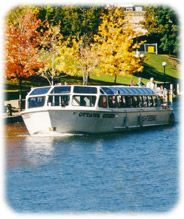 Rideau Canal boat cruise tour
