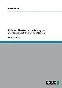 Episches Theater: Inszenierung der Iphigenie auf Tauris von Goethe Buch - Weltbild.de