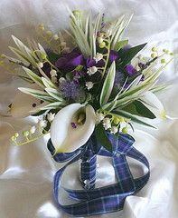 table top ideas for weddings thistles - Google Search