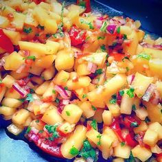 This delicious salsa makes a perfect match for Fish Tacos, grilled Chicken or just as a healthy dip with quinoa chips.     what you need: 2 ripe large mangos, diced 3 tbs fresh lime juice…