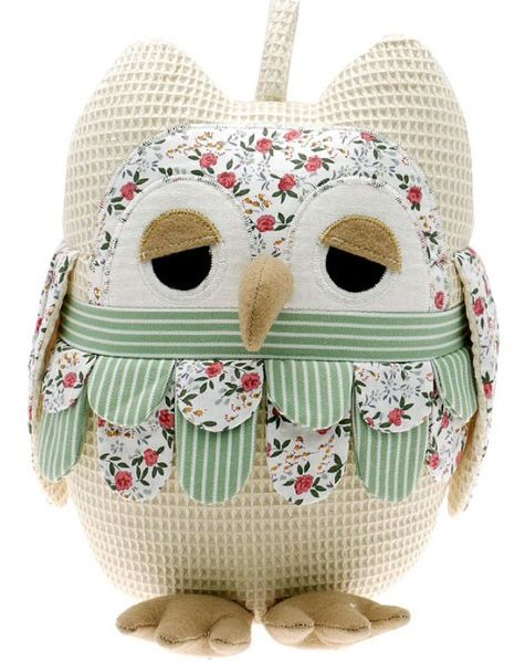 Patchwork Owl Doorstop from Owl Barn Gifts