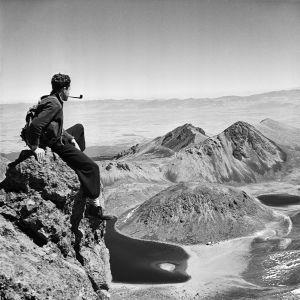 Juan Rulfo, Autorretrato en el Nevado de Toluca, c.1940