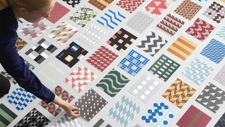 Designers can now download pattern files for over 500 colourful acoustic panels using an online design tool created by Baux and Form Us With Love.