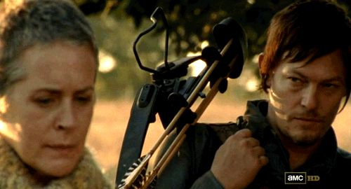 "JUST DO IT ALREADY. | A Plea For Carol And Daryl From ""Walking Dead"" To Just Hook Up Already"
