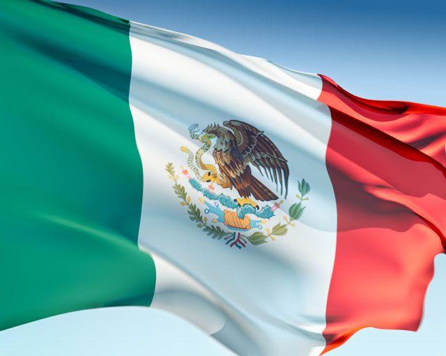mexican flag Bandera de Mexico