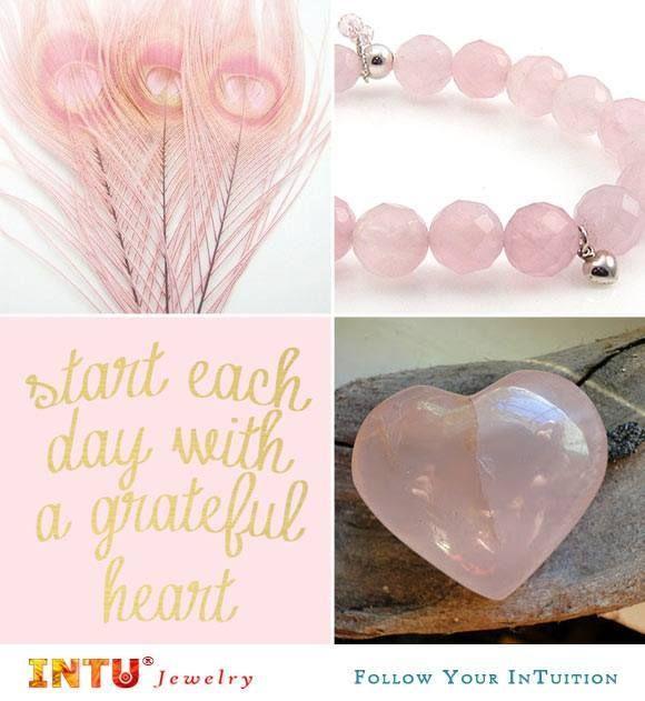 Rozenkwarts is DE steen van de liefde! :-) www.intu-jewelry.nl