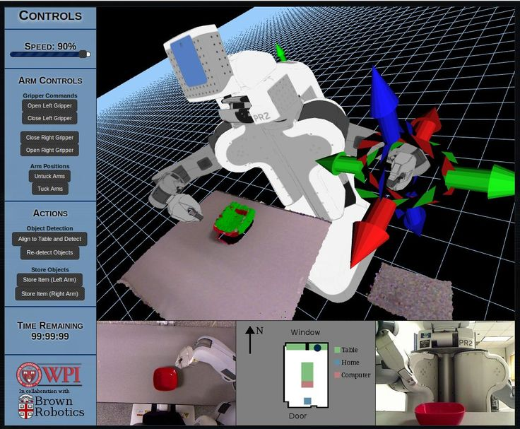 Example of the web browser interface for RobotsFor.Me (credit: Sonia Chernova, Worcester Polytechnic Institute)
