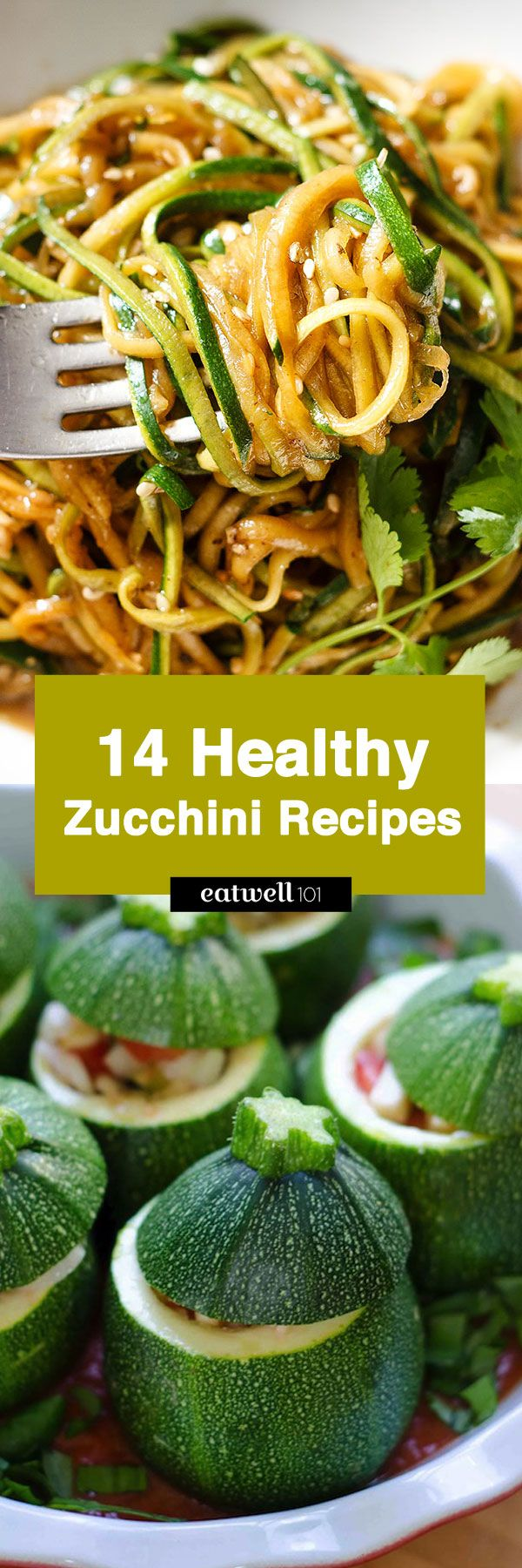 Use up all those zucchinis from your farmer's market, or CSA delivery (or lingering in your garden) with these easy, healthy zucchini recipes – full of nutrients and flavor! From spiralized z…