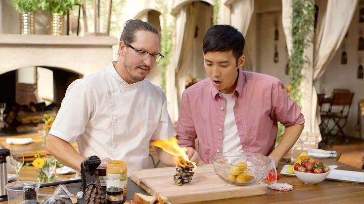 『キッチン・ラボ』では、これまでにない調理法や全く新しいレシピを実験し、食の新たな可能性を探求する。