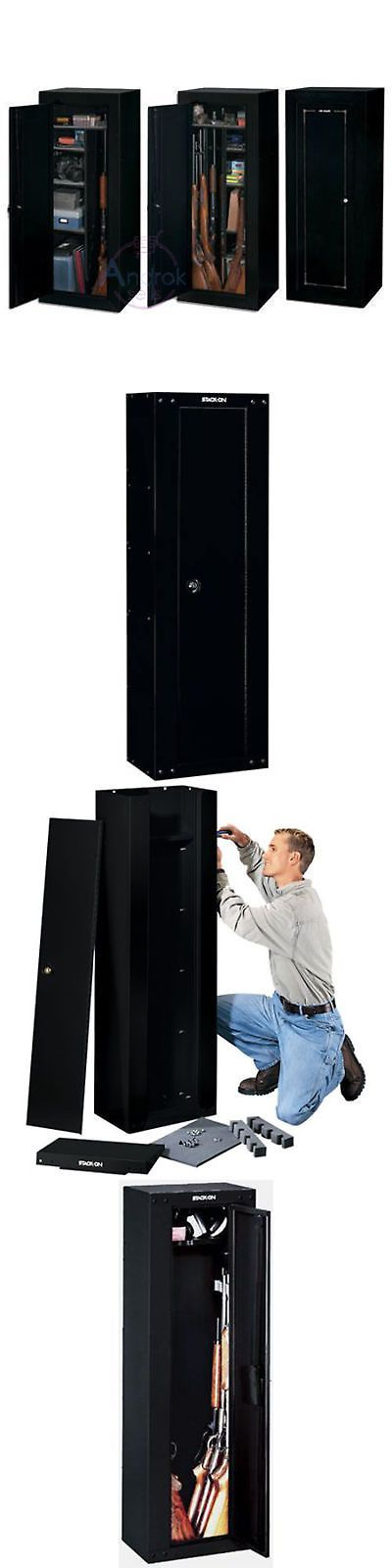 Cabinets and Safes 177877: 8 Gun Cabinet Storage Safe Rack Rifle Ammo Security Locker Safety Hunting Code -> BUY IT NOW ONLY: $109.99 on eBay!