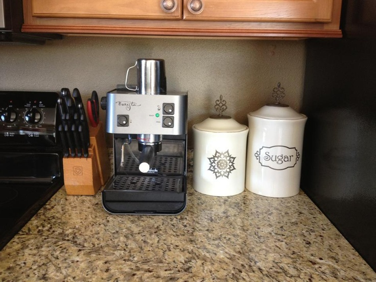 Use Uppercase Living embellishments for your kitchen canisters. Https://brookebeney.uppercaseliving.net Order online today!