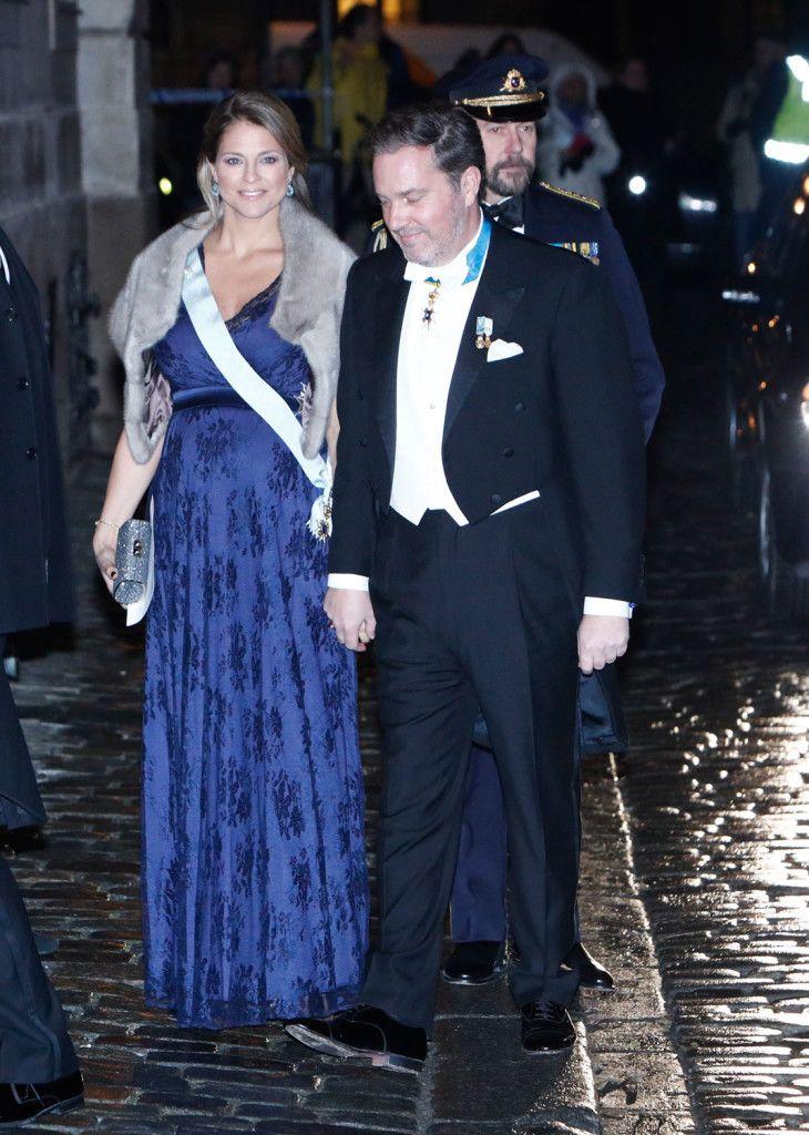 Princess Madeleine of Sweden, Duchess of Hälsingland and Gästrikland.. Tiffany Rose gown.. #stylethebump #chicbump #dressingthebump #royalbump
