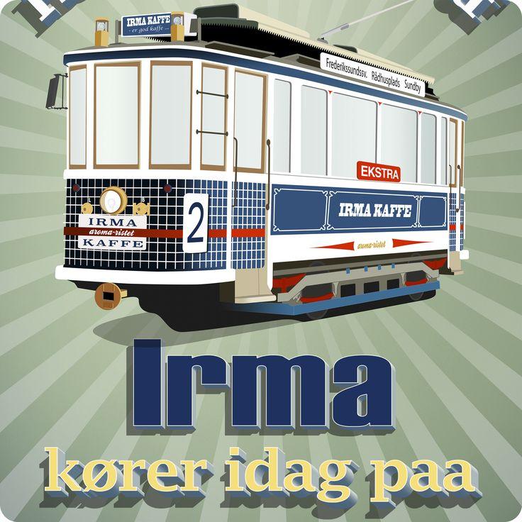 """""""Linie Irma"""" - Alfarvej Plakater"""