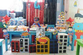 Ide ulang tahun anak laki-laki. DIY Superman Birthday Party