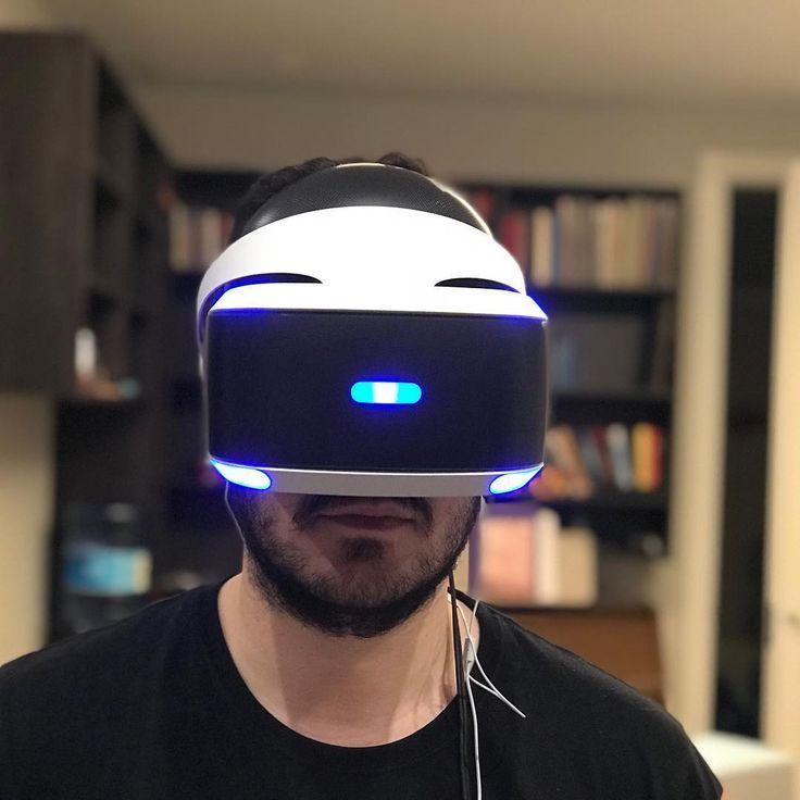 Me encanta el invento este de la realidad virtual!! . . . . . . . #PS4 #VR
