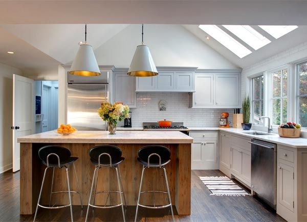 Kitchen Design Skylight Modern Kitchens Kitchen Ideas Hill House