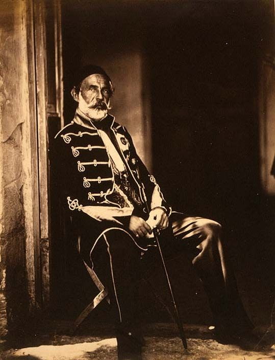 Ömer Lûtfi Pasa. LC-USZC4-9350. Crimean War Photographs by Roger Fenton, 1855