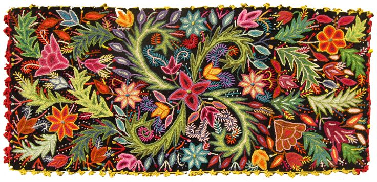 Peruvian hand embroidery