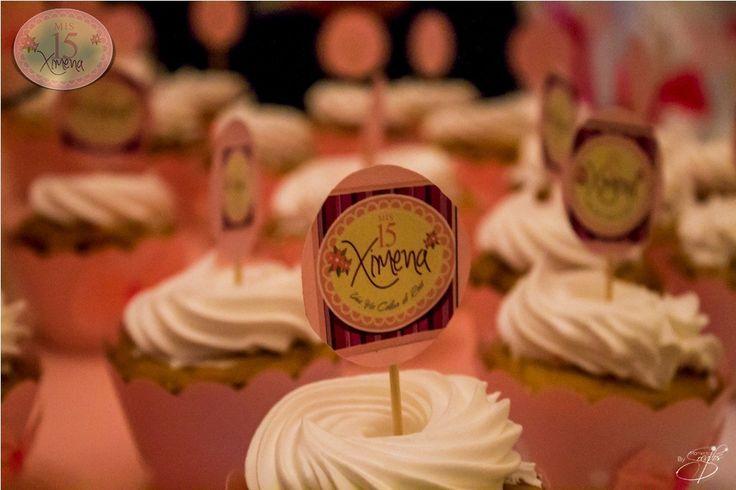 Cup cake personalizado   Momentos Soñados www.momentossonados.com