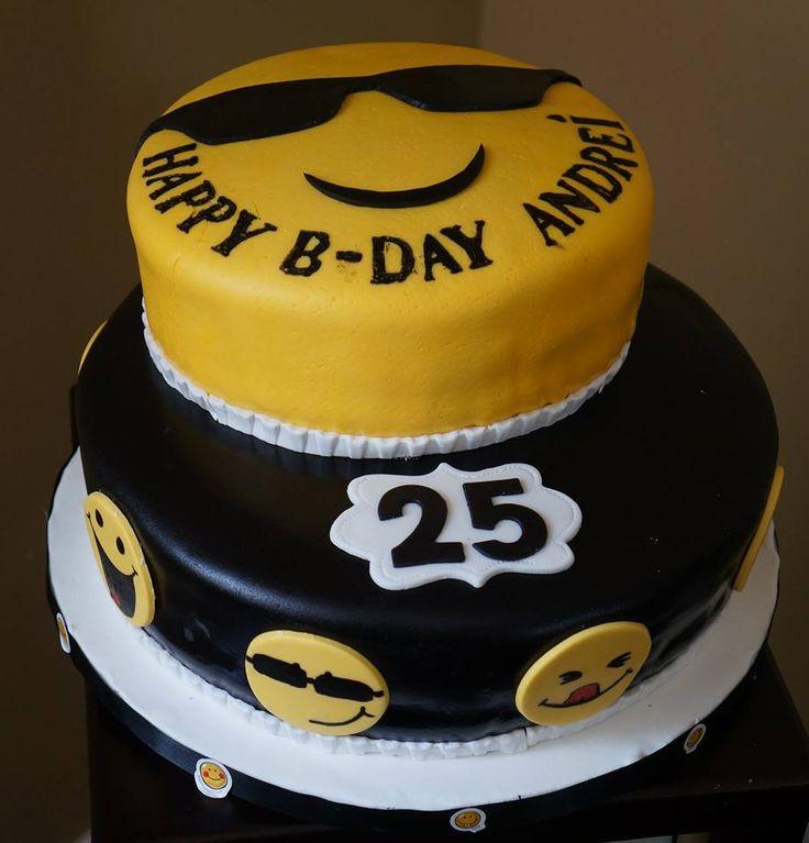 Emoji, Cake And Emoji Cake