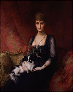 Sir Luke Fildes- Alessandra di Danimarca