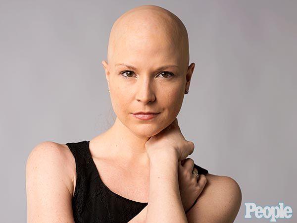Bald Photo Shoot of Diem Brown, PEOPLE Blogger & Cancer Survivor : People.com