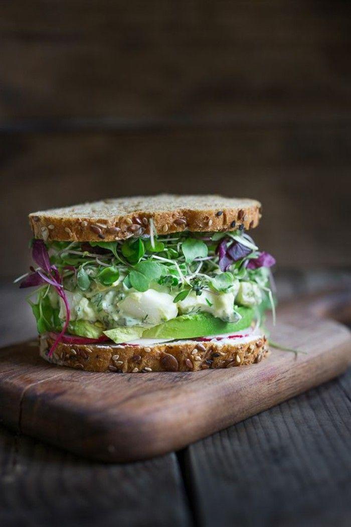 78 id es propos de menu quilibr sur pinterest menu quilibr pour maigrir menu - Idee petit dejeuner sain ...