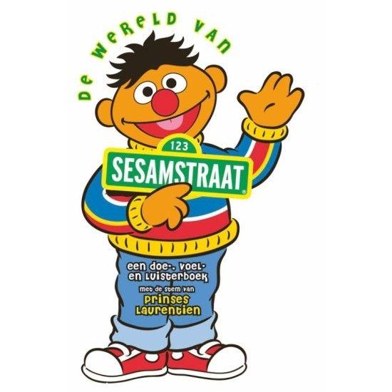 De wereld van Sesamstraat + CD - Met dit grappige prentenboek in de vorm van Ernie uit Sesamstraat leren kinderen alles over zintuigen. Samengesteld en ingesproken door Prinses Laurentien.