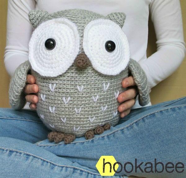 Koko the owl amigurumi pattern | hookabee