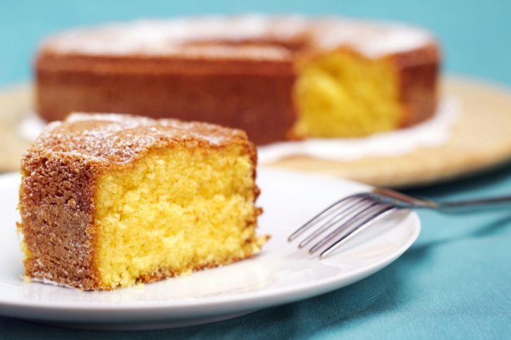 Γιαουρτόπιτα (Yaourtopita)-This Greek sour milk cake recipe is made with Greek yogurt to give it a unique flavor.