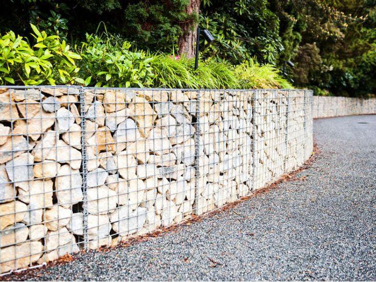 25 best ideas about Gabion wall on Pinterest Gabion