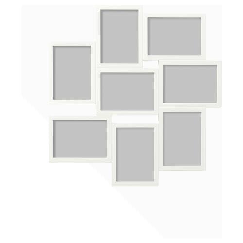 Vaxbo Collage Rahmen Fur 8 Fotos Weiss 13x18 Cm Ikea Deutschland Collage Frames Ikea Frames Frames On Wall