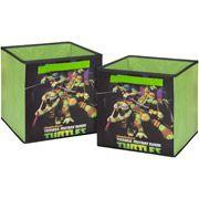 Nickelodeon Teenage Mutant Ninja Turtle Storage Cubes, 2-Pack