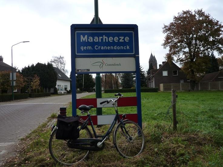 ik woon in Maarheeze.