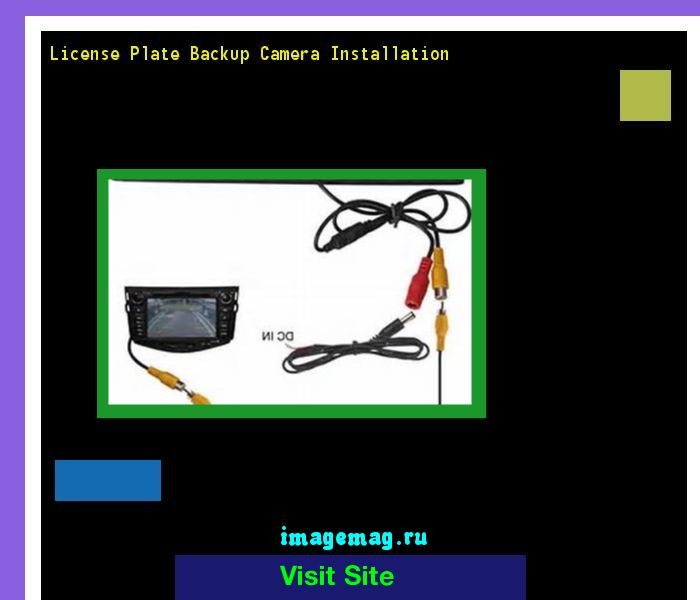 License plate backup camera installation 181854 - The Best Image Search