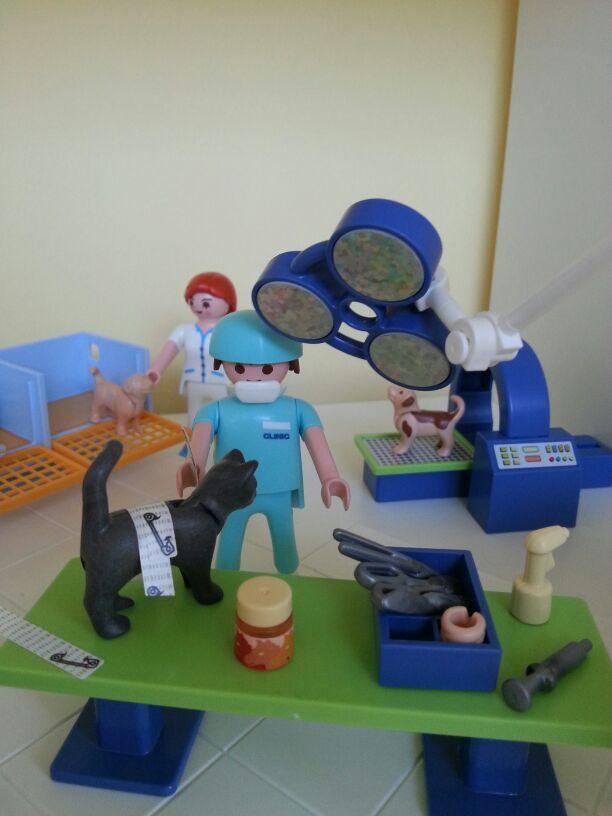 quirófano de animales #playmobil