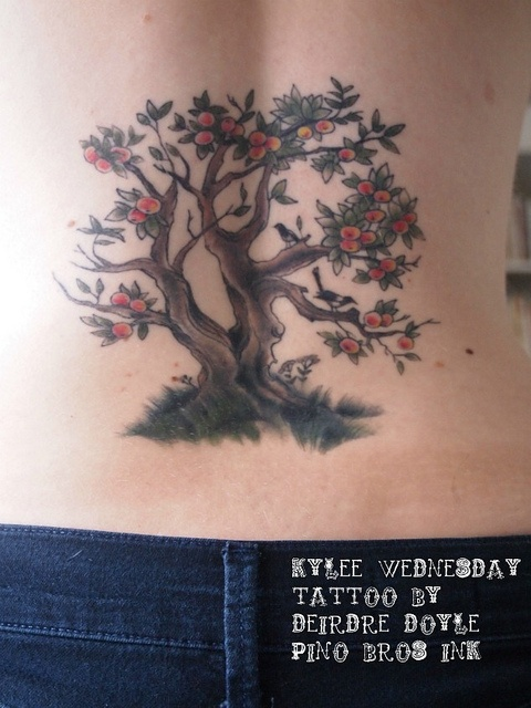 17 best images about tattoo ideas on pinterest for Apple tree tattoo designs