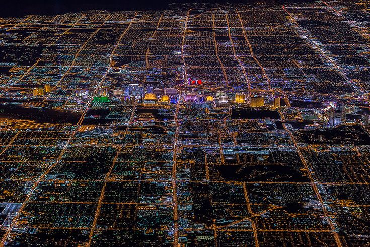 LAS VEGAS FROM 10,800 FEET IS ONE OF THE MOST AMAZING VIEWS EVER