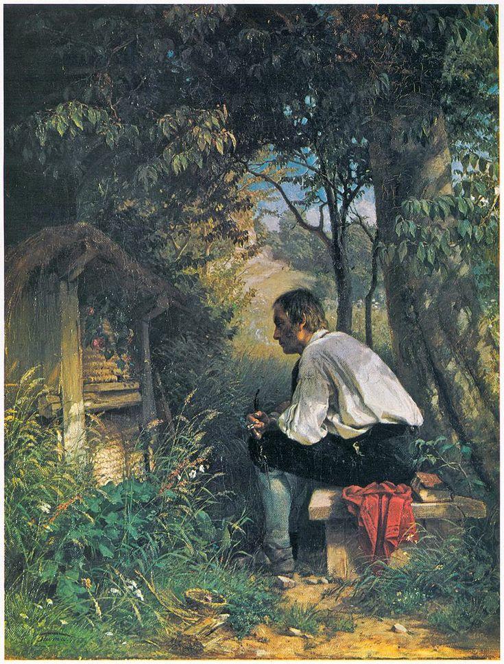 Hans Thoma The Beekeeper